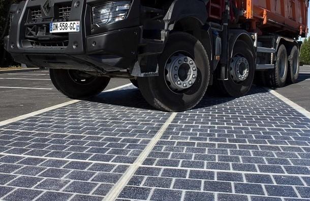 Routes solaires : pré-industrialisation des dalles photovoltaïques