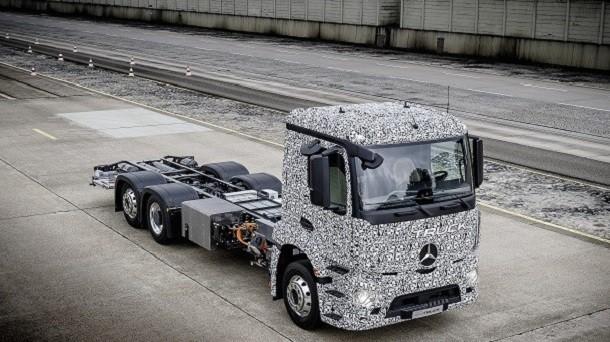 Mercedes presenteert de 100% elektrische Urban eTruck vrachtwagen