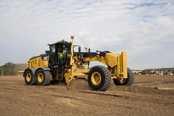 Caterpillar präsentiert den stärksten Grader 14M3