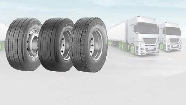 Michelin rust de nieuwe Stralis van Iveco uit voor een lagere TCO