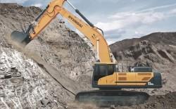 Hyundai presenta il suo nuovo escavatore cingolato : il HX480 L