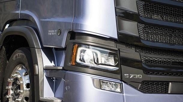 Seria S od  Scanii zdobywa nagrodę « Ciężarówka Roku 2017 »