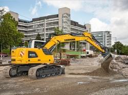 A nova escavadora de rastos Liebherr R920 Compact