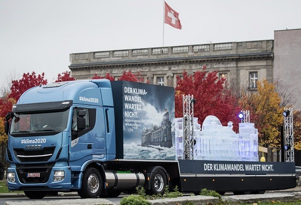 Iveco compromete-se para o ambiente em Alemanha com o novo Stralis NP