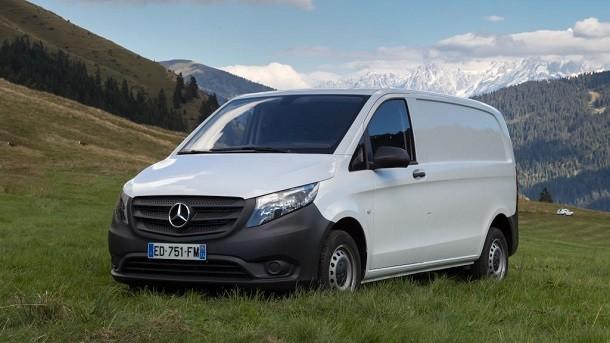 Eine neue Diesel-Version für den Mercedes Vito-Traktion