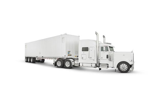 Ciężarówka transportująca dane : nowy projekt Amazon.