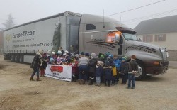 Les Camionneurs du Cœur et la S.A.R.L Rêve soutiennent le petit Ayden et sa famille
