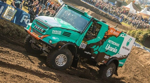 The Dakar truck will start January 2nd 2017 in South America