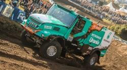 Le Rallye Dakar camião começa o 2 janeiro 2017 na America do sul