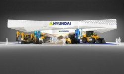 Dei macchinari Hyundai inediti presentati al salone SaMoTer 2017 di Verona