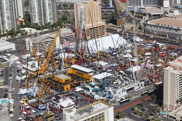Neue Ausgabe der Conexpo-Messe in Las Vegas