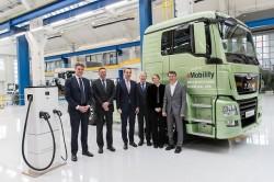 Man y el CNL se asocian para afrontar el desafío del vehículo industrial eléctrico