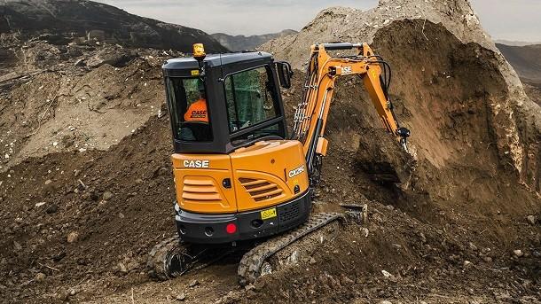 Nouvelle gamme de mini-pelles CASE Construction Equipment : des nouveautés à découvrir