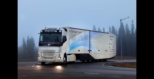 Volvo Trucks improves its Concept Truck