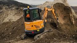 Nieuw assortiment CASE Construction Equipment minigravers met veel noviteiten