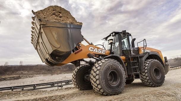 A carregadora sobre pneus CASE série G garante um nível de conforto inédito aos operadores