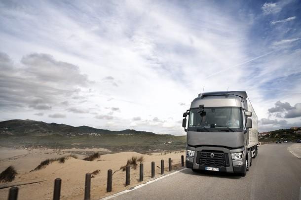 Der Optifuel Challenge 2017 von Renault Trucks organisiert, beginnt