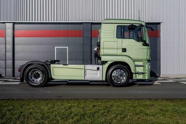 MAN City-Truck: Der allerneueste city-e-Lkw von MAN Truck & Bus