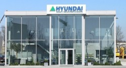 Hyundai Construction Equipment se instala na Bélgica