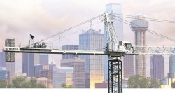 The SK 452-20 : the latest tower crane by Terex