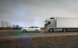 Intelligente Sicherheitssysteme von Volvo Trucks gegen Unfälle