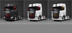 Deux séries limitées Scania en partenariat avec B.R.M