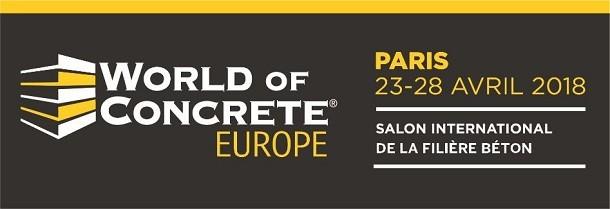Un événement unique : Le World of Concrete Europe à INTERMAT