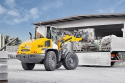 Le nuove pale gommate Liebherr Stereo L 514 et L 518