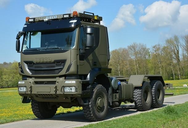 Iveco e Armasuisse: 400 novos camiões IVECO para expandir a frota armada suíça