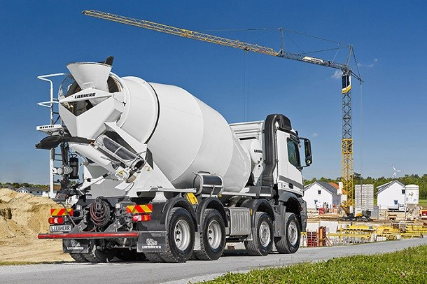 Liebherr Innovation : the new concrete mixer to arrive on construction sites
