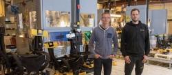 Engcon adotta due banchi di prova completamente automatizzati