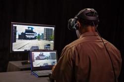 Eine virtuelle Realität für die Ausbildung von UPS Chauffeuren.
