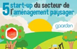 5 startups qui innovent dans le secteur de l'aménagement paysager [Infographie]