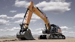 Nieuwe hydraulische CX750D graafmachine van Case Construction