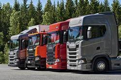 La nuova gamma per le costruzioni della Scania : Scania XT