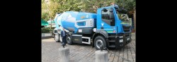 Oxygène, a concrete mixer trucks with very low CO2 emissions