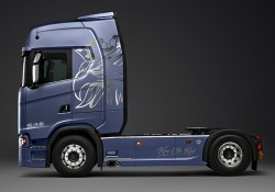 Limited Edition des Scania King of the Road - Neue Generation
