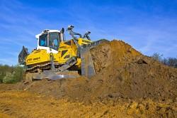 Der neue Bulldozer Liebherr PR 766 für die 50-Tonnen-Klasse