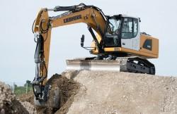 Un nuovo escavatore cingolato polivalente firmato Liebherr : R 918
