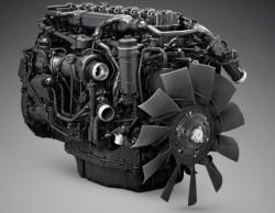 Ein neuer Scania-Motor: OC13-Gasmotor