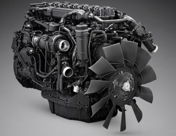 Um novo motor Scania: o motor a gás OC13
