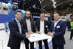 Une formation professionnelle pour les futurs attachés commerciaux d'Iveco