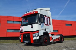 The famous Renault Trucks T Racing in limited edition