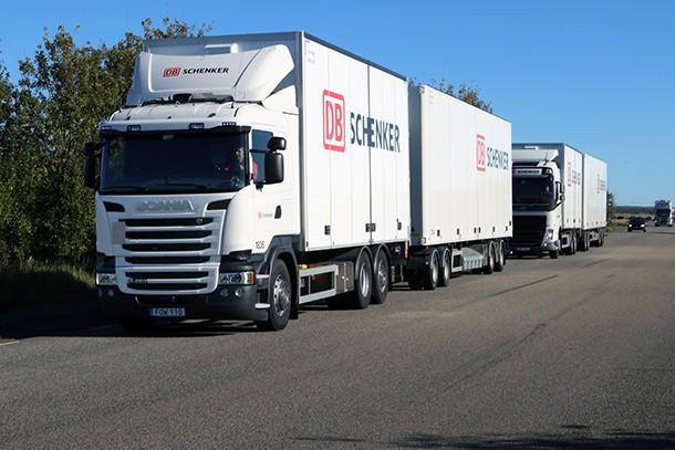 Os fabricantes de camiões se juntam para testar pelotões de várias marcas