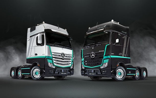 Actros1 : a limited edition for the UK