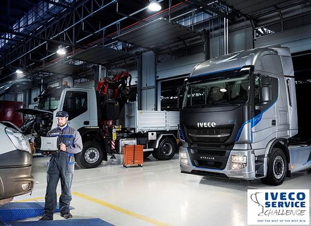 Iveco Service Challenge : cual será el mejor taller de reparación ?