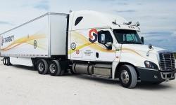 Ein autonomer Lkw ohne Fahrer am Steuer: der Ehrgeiz von Stasky Robotics