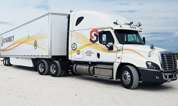 Autonomiczna ciężarówka bezzałogowa: ambicja Starsky Robotics