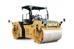 CAT anuncia 3 novos modelos de compactadores vibratórios tandem