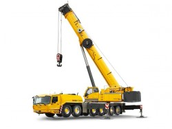 A new Grove crane after the GMK6300L